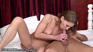21Sextreme Granny Rides Young Cock Cowgirl