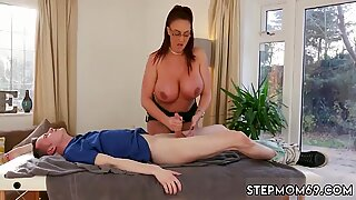 Red head step mom and russian milf creampie Big Tit Step-Mom Gets a Massage - Big Red