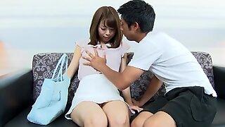 Asahi Sakai :: Amateur Girl With Remote Vibrator 1 - CARIBBE