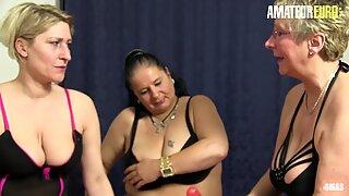AMATEUR EURO - Lesbian German Sex With Dirty Grannys