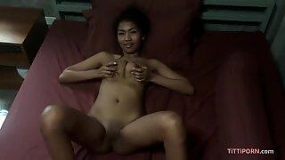 Dude fucks his big tit girlfriend in hotel room
