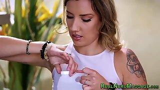 Nuru lesbian fingering