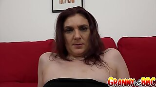 Granny Vs BBC - Silvia Muller Ass Reamed