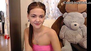 18 College Girls POV CuteLiveGirls com Beautiful Webcam Teen Insterting