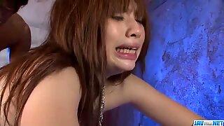 Serious porn play along perky tits Mami Yuuki