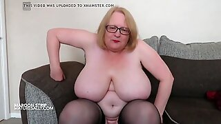 Big tits and nipples hung from a coat hanger