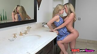 Mature milf pounded by teens boyfriend
