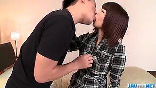 Akina Sakura takes good care of tasty dick before a good fuck