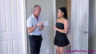 My Old Perverted Employee Fucks Me Teen Asian Daughter- Alona Bloom